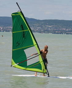 Surfing Vacation at Lake Balaton